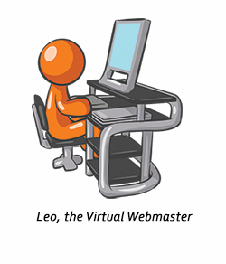 Leo, the Virtual Webmaster
