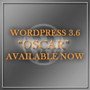 WordPress 3.6 available for update